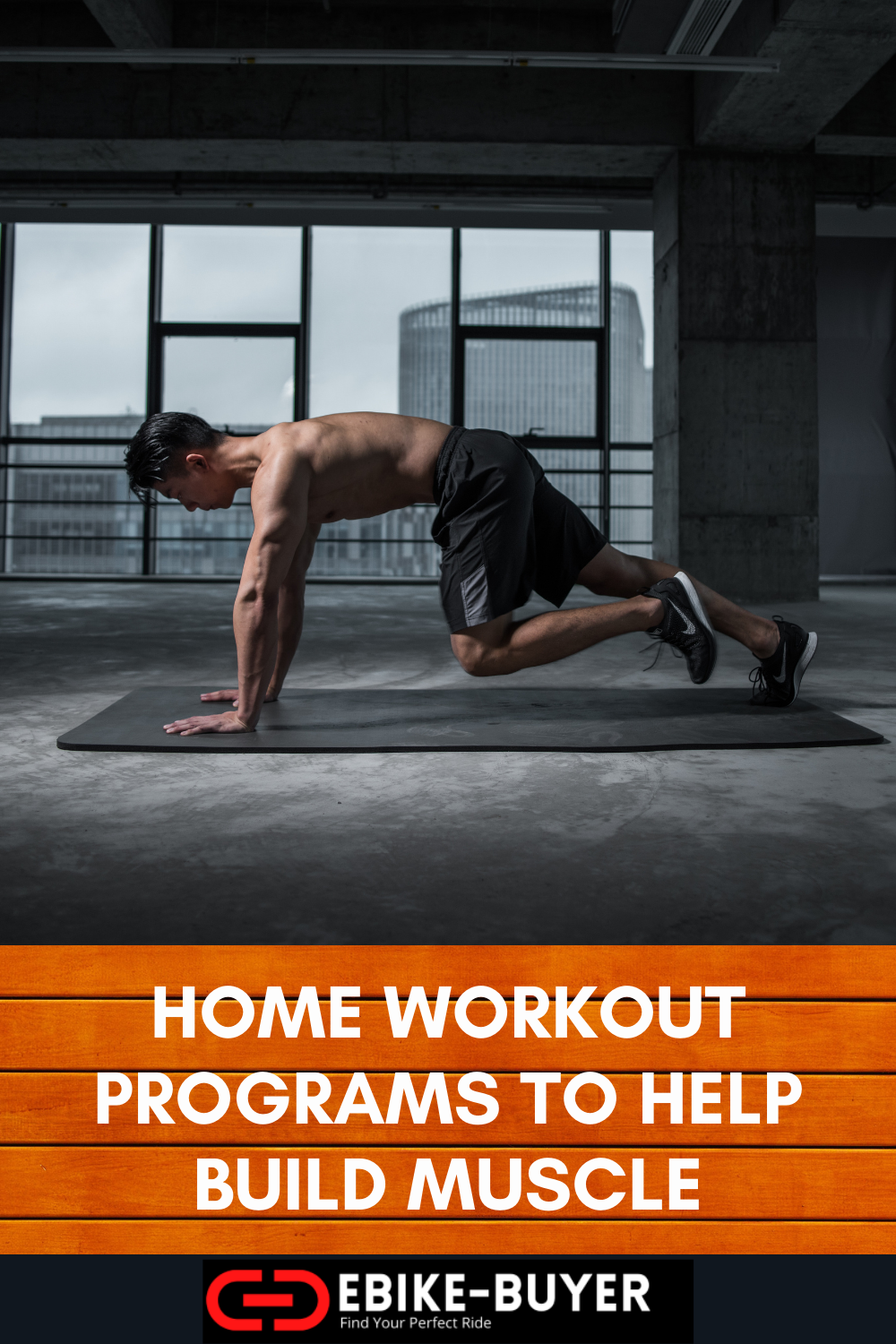 home workout programs for building muscle